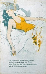 Old Advertisement for Asbestos Sheets