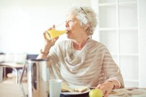 nutritional status of mesothelioma patients